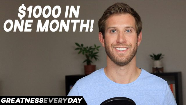 How I Made $1000 a Month as a Small YouTuber